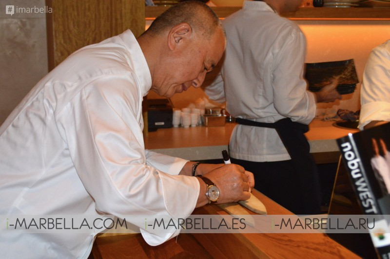 Exclusive! Annika Urm meets world-known Chef Matsuhisa Nobu