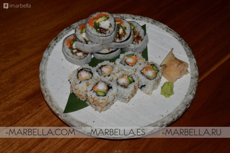 Food Review, Nobu Restaurant, Marbella, 2017