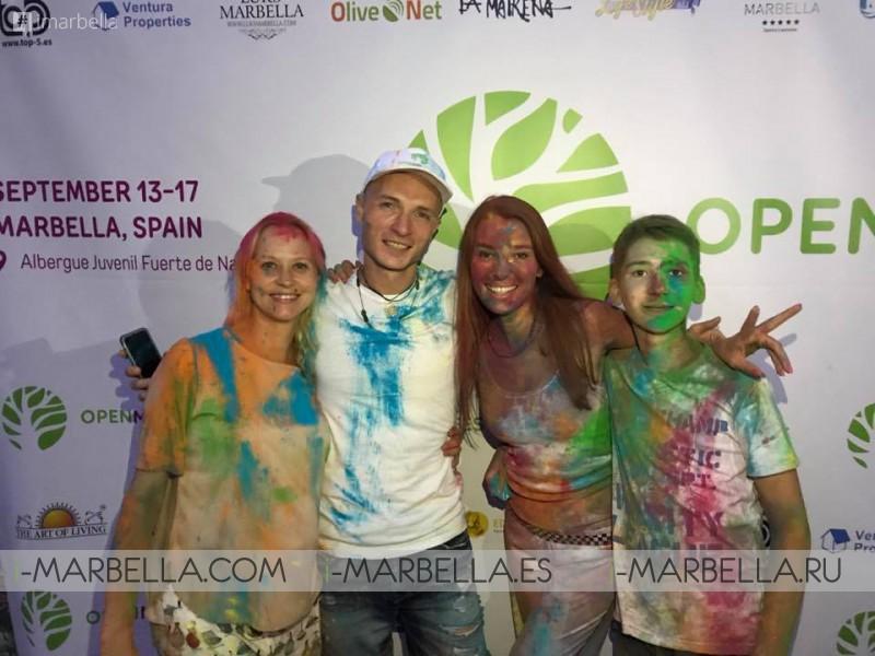 OPENMINDFEST international charity festival Marbella, September 13-17, 2017