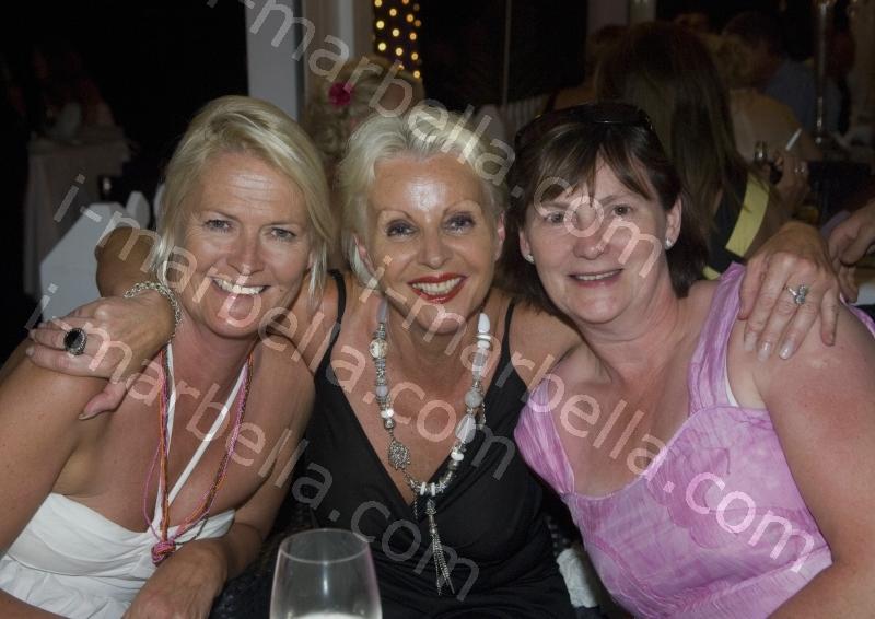 Water Angels Charity Gala at the Beach House, Marbella.