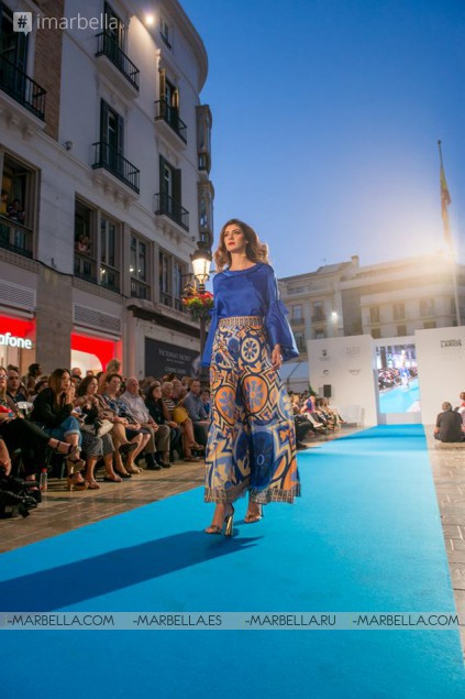 VII Pasarela Larios Málaga Fashion Week 2017, September 15-16, 2017, Carmiña Romero Gallery