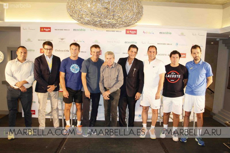 Presentation of Players of the II Senior Masters Cup @ Club de Tenis Puente Romano, September 28-30, 2017