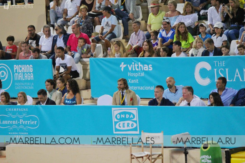 Electrifying Final for the Senior Masters Cup @ Puente Romano Tennis Club, Marbella 2017 Gallery