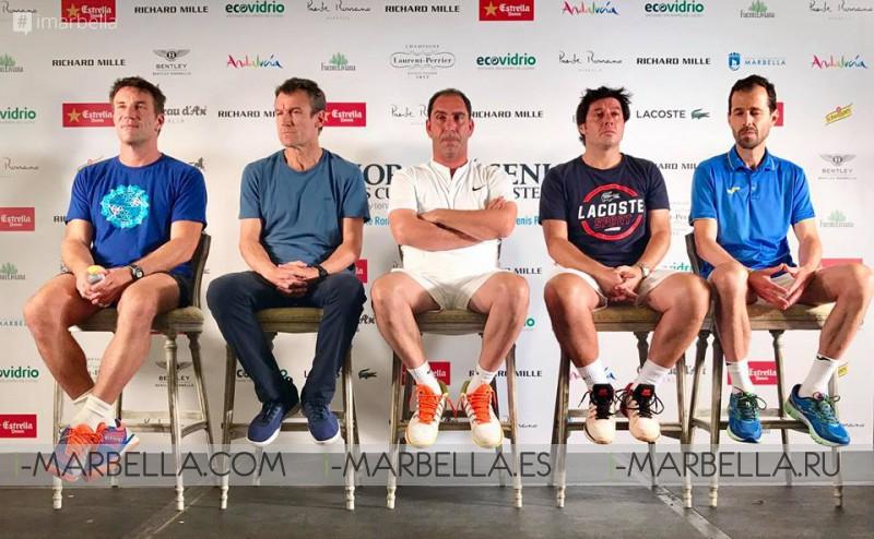 Senior Masters Cup Press Conference @ Puente Romano Beach Resort & Spa, September 28 2017