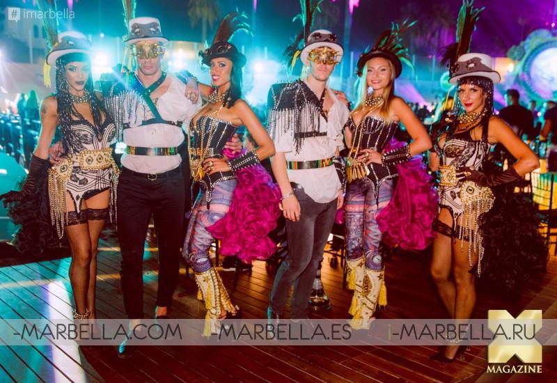 Ocean Club Black and Gold Closing Party Marbella 2017 Gallery