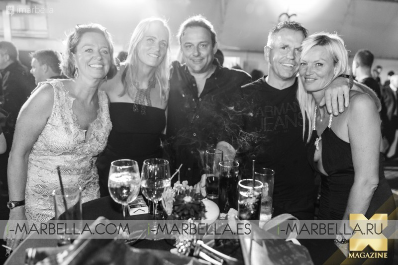 Ocean Club Black and Gold Closing Party Marbella 2017 Gallery