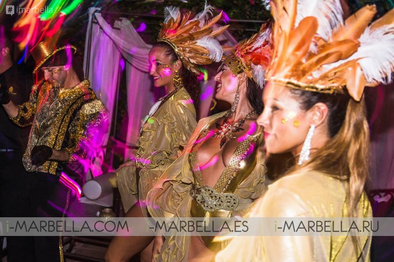 Gold Party V by Tequila Patrón @ Finca Besaya Marbella August 2017 Gallery