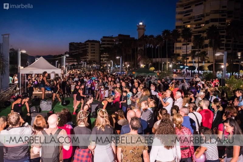 La Solidaridad brilla en la IV Neon Night en Marbella