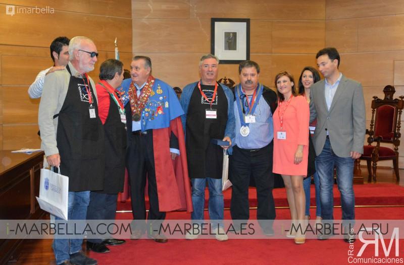 Recepción en el Concello de Cambados, paseo por la Ría de Arousa y Almuerzo oficial - Octubre 2017