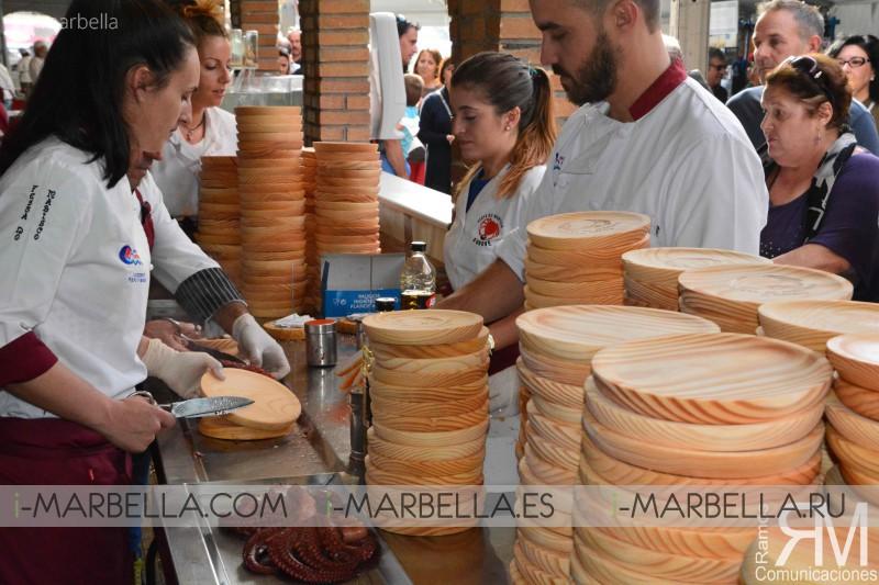 Feria del Marisco en O´Grove - Galicia Octubre 2017