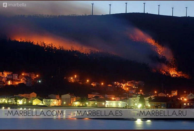 Fire Takes Over Galicia @ Galicia – October 15th 2017
