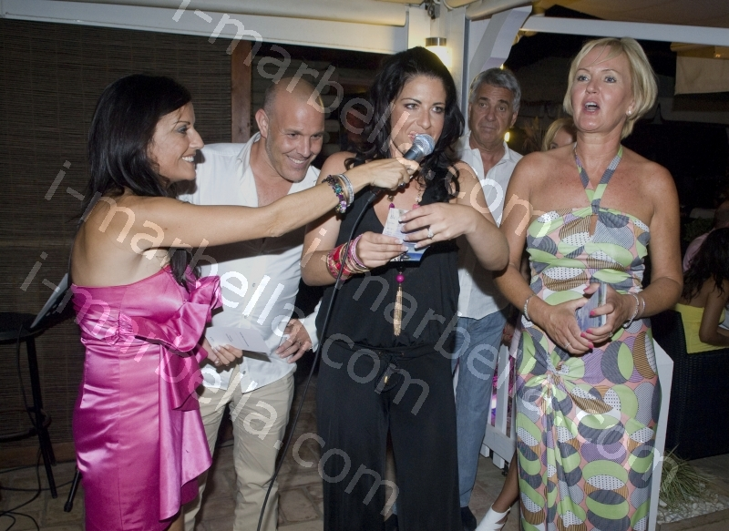 Water Angels Charity Gala at the Beach House, Marbella.