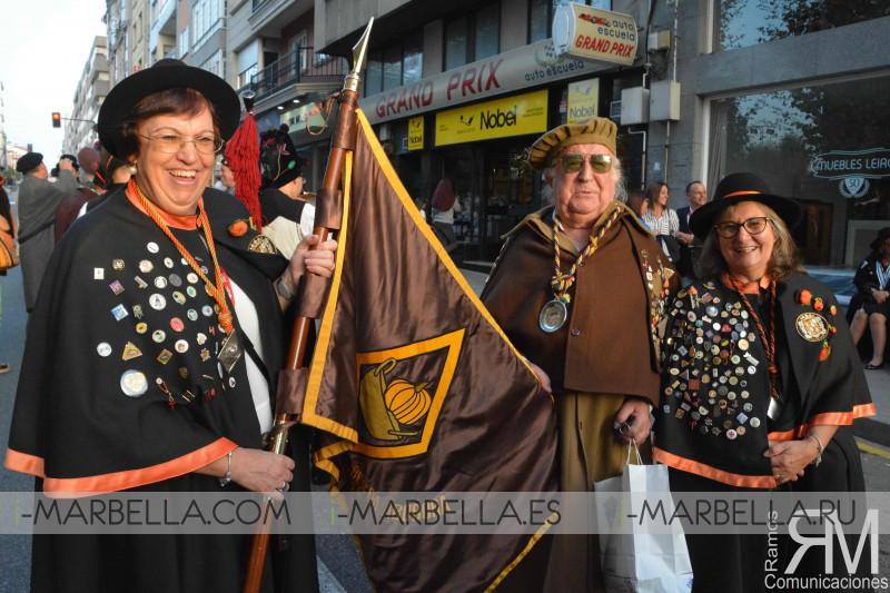 Desfile de Cofradías Enogastronómicas y I Fiesta de la vendimia en Cambados