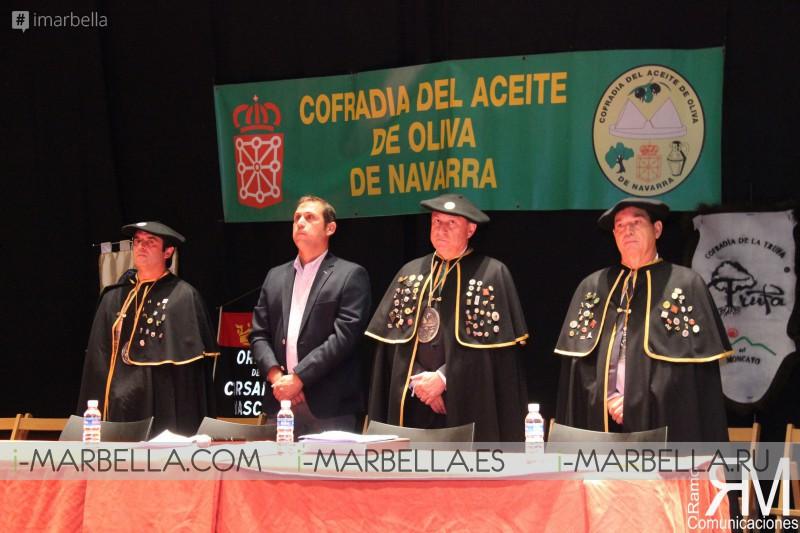 XVII Capítulo Cofradía del Aceite de Oliva de Navarra