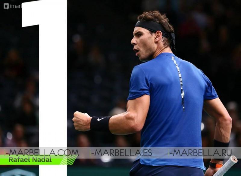 Rafa Nadal retires from the Paris-Bercy ATP tournament @ Paris 2017