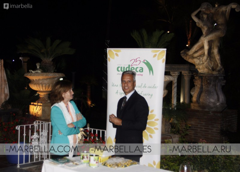 Gala dinner in aid of Cudeca Cancer Care Hospice and The Red Cross, Nov 5, 2017 @ Villa Tiberio Gallery