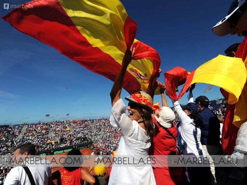 Amazing! Marbella will host the first round of the Davis Cup on February 2nd to 4th of 2018