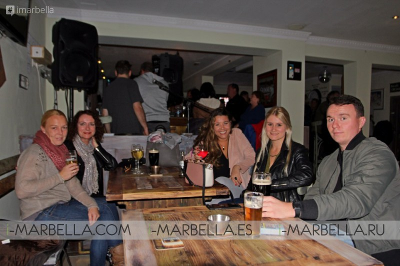 Emerald Sports Bar reopened its doors with a nice Party @ San Pedro Alcántara this November 17th 2017