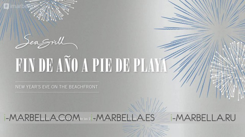 Come with us to Sea Grill New Year's Eve Dinner @ Puente Romano on December 31, 2017