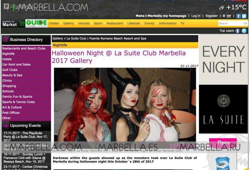Top viewed i-Marbella Galleries of Autumn Season 2017