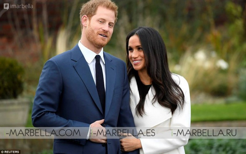 Prince Enrique de Gales and  Meghan Markle engagement @ Palace of Kensington this November 27th of 2017