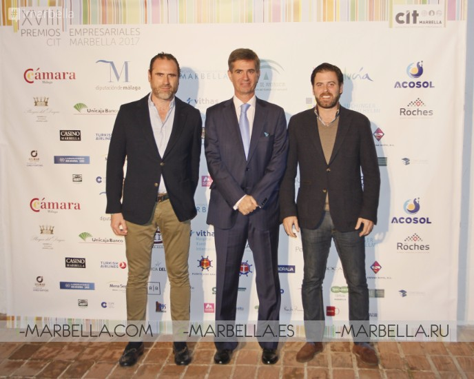 More than 350 people joined us for the CIT Business awards @ Puente Romano, Marbella 2017 Gallery
