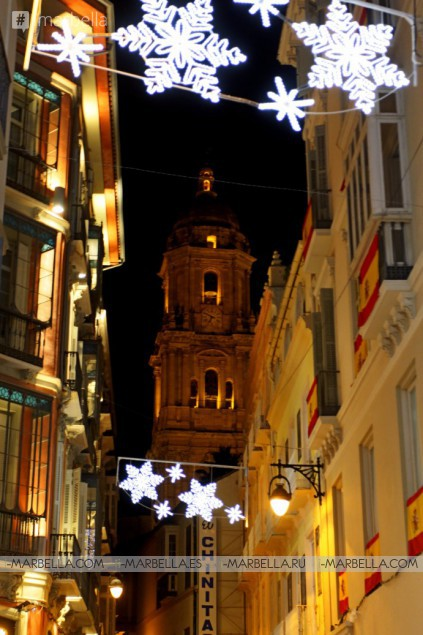 Málaga Christmas lights are on! @ Malaga November 24th 2017 Gallery, Video