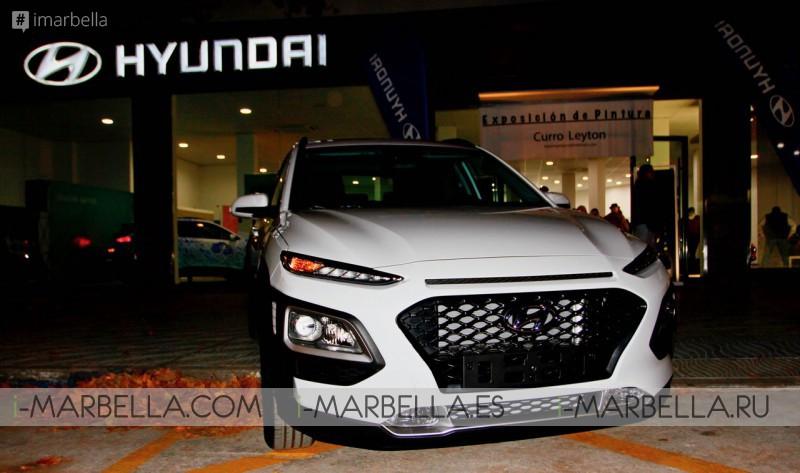 New Hyundai KONA Debut @ Hyundmar Marbella 2017