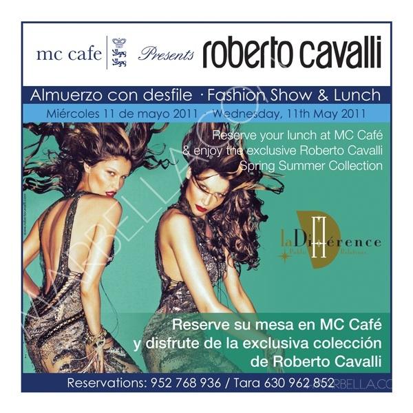 Roberto Cavalli Fashion Show@MC Café