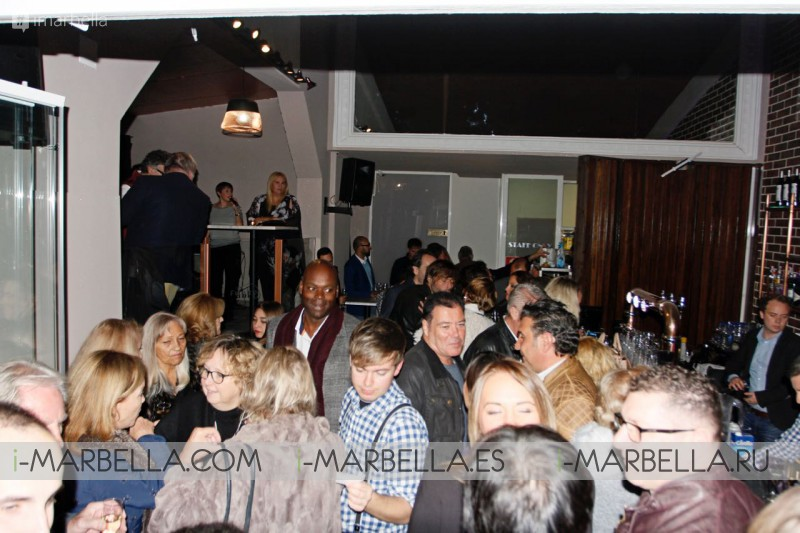 Funky Tapas Gastro Bar Reopening @ Marbella – December 1 2017