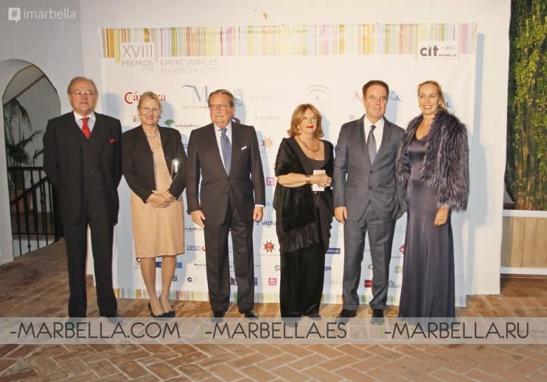 Más de 350 personas se unieron a nosotros para los premios CIT Business @ Puente Romano, Marbella 2017 Galería-Video