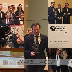 Ocean Clinic Marbella has been recognized for its charity work in Africa in the 2017 German Medical Award