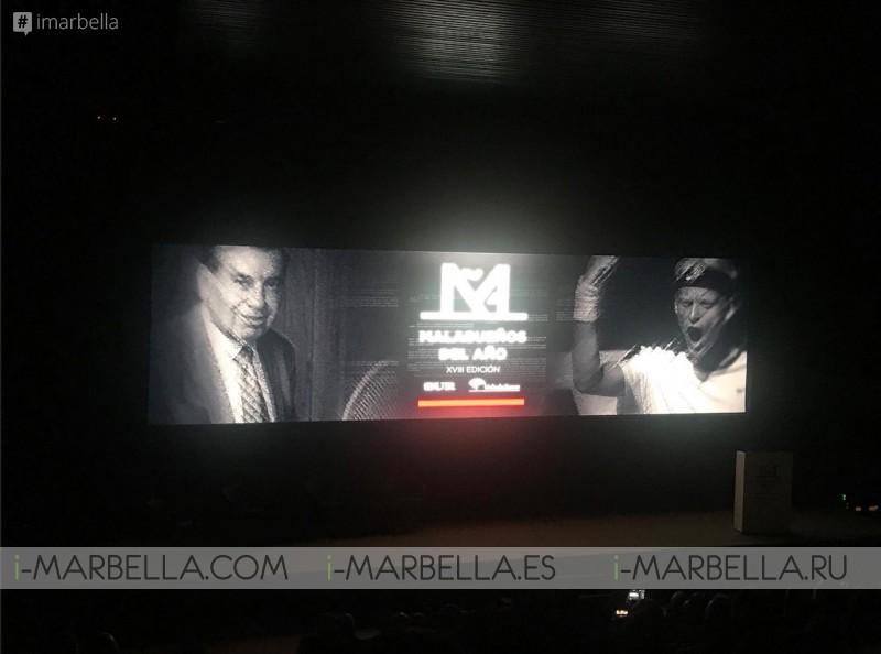 Manolo Santana Person of The Year @ Málaga December 11 2017 Gallery