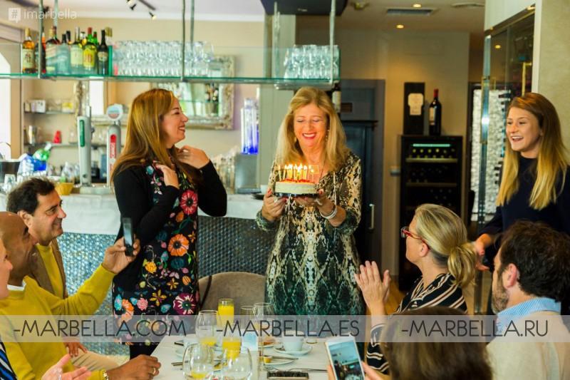 Fiesta de cumpleaños de Kristina Szekely @La Sala Banus 2017