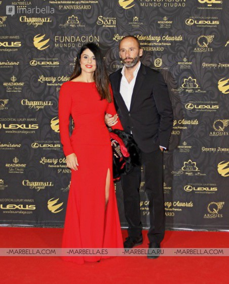 VIP red carpet Luxury Advertising Awards 5th edition @ Palacio De Congresos De Marbella December 15 2017