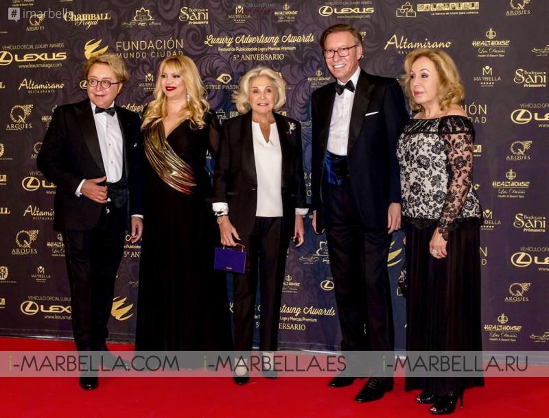 Spain Luxury Advertising Awards Winners @ Palacio De Congresos De Marbella 2017