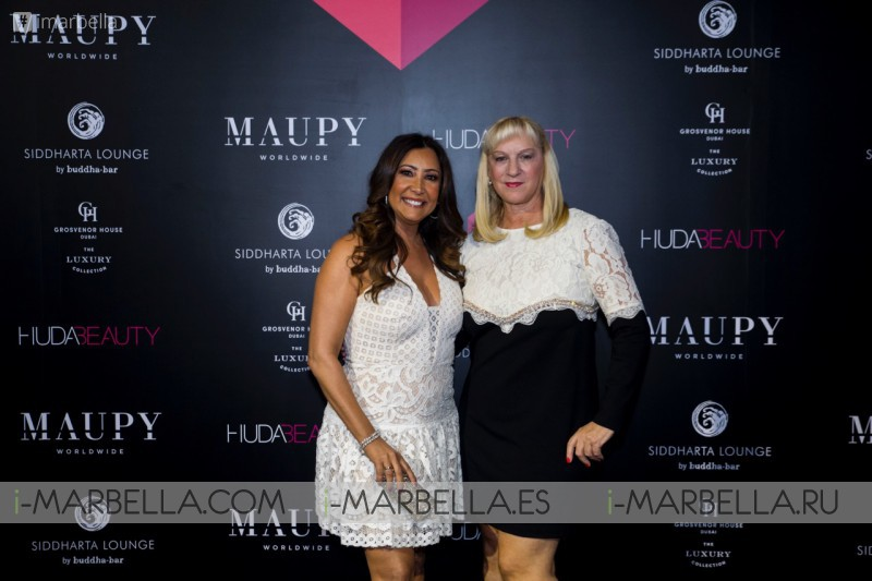 María Bravo, Vanessa Williams and Adrian Brody @ Global Gift Welcome Party Dubai December 7, 2017 Gallery, Video