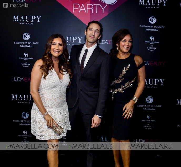 María Bravo, Vanessa Williams and Adrian Brody @ Global Gift Welcome Party Dubai 2017 Gallery, Video