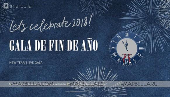 New Year Gala @ Salón Andalucía of Puente Romano 2017 .