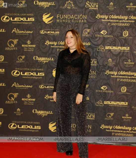Alfombra roja Luxury Advertising Awards @ Palacio De Congresos De Marbella 15 de diciembre de 2017