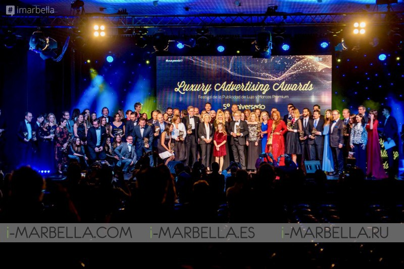 Ganadores de los Luxury Advertising Awards @ Palacio De Congresos De Marbella 2017