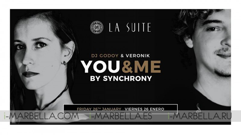 You & Me by Synchrony Party @ La Suite, Jan 26, 2018