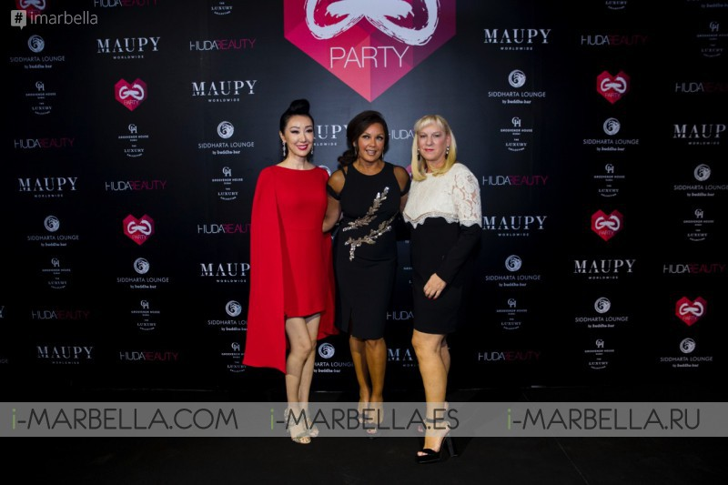 María Bravo, Vanessa Williams y Adrian Brody @ Global Gift Welcome Party Dubai 2017 Galería, Video