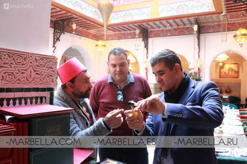 Riad Palais Zahia visita con José Manuel Parada - Fin de Año 2017