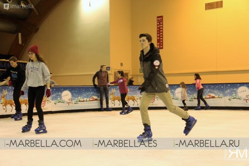 Tarde de patinaje en
