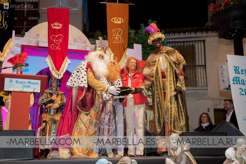 Procedure of the three kings time changed @ Marbella January 5 2018