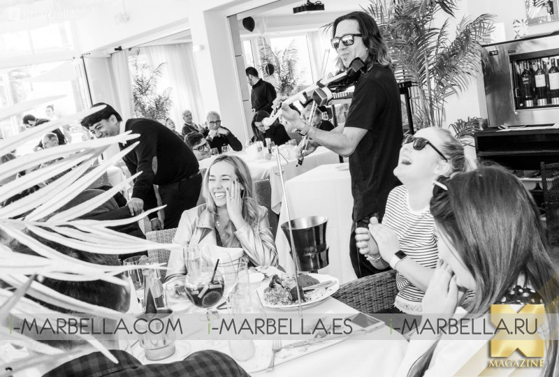 First Brunch of 2018!!! @ Marbella January 1 2018