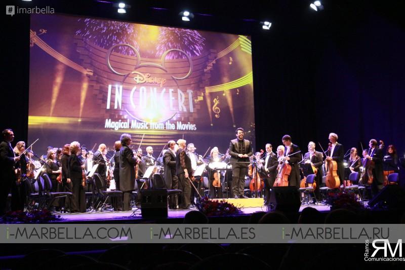 Disney in Concert cierra las navidades en Málaga