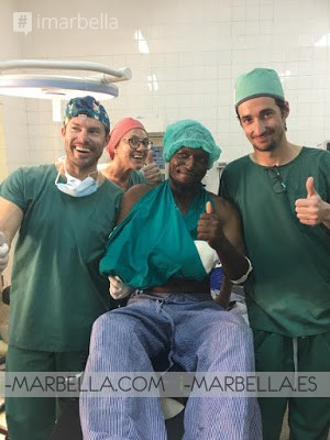 Ocean Clinic Marbella Collected more than 5000€ for their awarded charity work in Africa