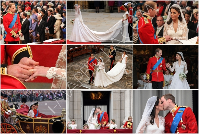 Balcony kisses seal royal wedding